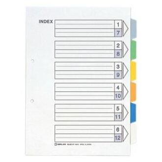 King Jim color index 6 colors 6 A4 vertical 907-6Y 00049855 [Buy x 3 sets]