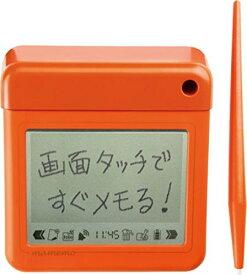 【送料無料】(まとめ買い)キングジム 卓上メモ マメモ オレンジ TM1オレ 00008624 〔3台セット〕