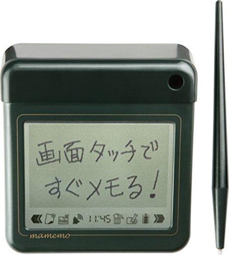 【送料無料】(まとめ買い)キングジム 卓上メモ マメモ 緑 TM1ミト 00008625 〔3台セット〕