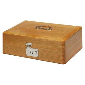 【送料無料】(まとめ買い)コレクト 印箱(錠付)木製 特大 AK-0 00024045 〔3個セット〕
