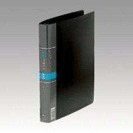 (まとめ買い)コレクト 名刺カードファイル 黒 A4-L 30穴 CF-616-BK 00040872 〔3冊セット〕【北海道・沖縄・離島配送不可】