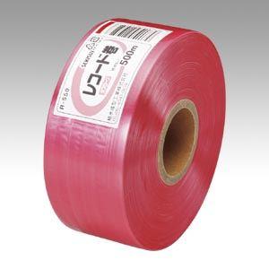 (まとめ買い)積水成型 タフロープR-550 赤 R-550 アカ 00019971 〔5巻セット〕