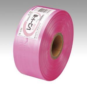 (まとめ買い)積水成型 タフロープR-550 桃 R-550 ピンク 00019976 〔5巻セット〕