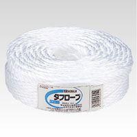 (まとめ買い)積水成型 タフロープ PPR-380H 白 PPR-380H シロ 00019952 〔3巻セット〕