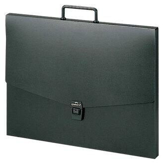 セキセイ 앨 리 케이스 A3 블랙 ART-700-60 블랙 15247 〔 정리해 구매 × 3 세트 〕
