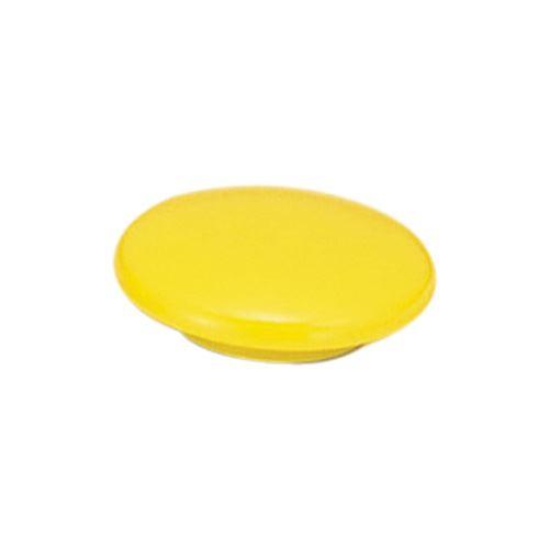 (まとめ買い)ベロス カラーマグネット 20mm 黄 6個入 IMC-206YE 00050223 〔×10〕