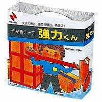 (まとめ買い)ニチバン 布テープ強力くん NN-40 白 NN-40 シロ 00003653 〔10個セット〕