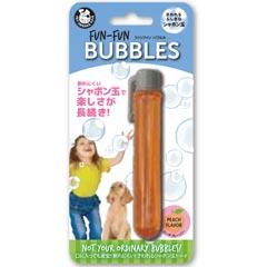 プラッツ 犬用おもちゃ シャボン玉 Fun-Fun バブルス 25ml ピーチフレーバー PQ00420【代引不可】