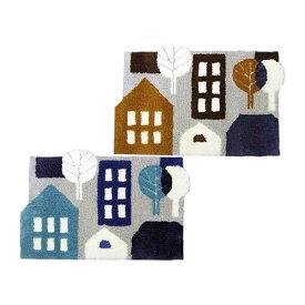 Finlayson(フィンレイソン) 北欧デザイン 玄関マット TALOT(タロット) 45×70cm ブルー・JB184945【代引不可】
