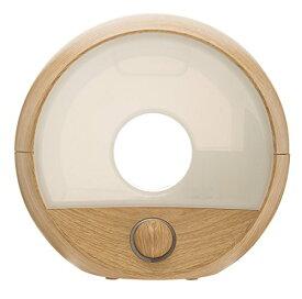 arobo(アロボ) 超音波式加湿器 CLV-284 【容量:1.8L / 加湿量:200ml/h】 (木目調のインテリア卓上加湿器、乾燥対策、LED【あす楽対応】