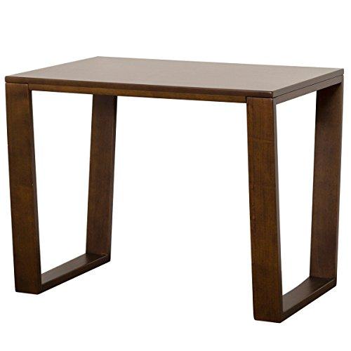 【送料無料】クロシオ 楽RAKU ダイニングテーブル 幅84.5cm 木製 ブラウン 004232【代引不可】