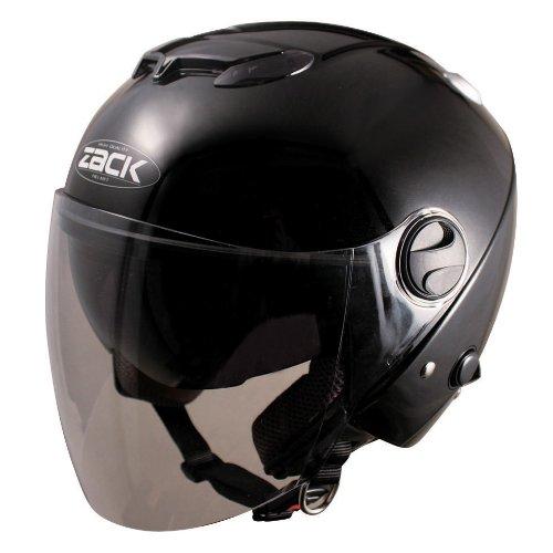 TNK工業 スピードピット ZJ-3 ZACKジェットヘルメット ブラック (58-60未満) 50968【代引不可】