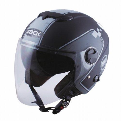 TNK工業 スピードピット ZJ-3 ヘルメット マットBK/グレー (58-60未満) 51008【代引不可】
