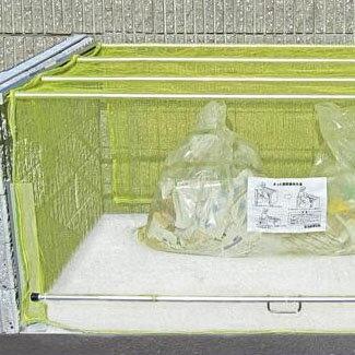 【送料無料】ダイケン ゴミ収集庫 クリーンストッカー ネットタイプ CKA-2016【代引不可】