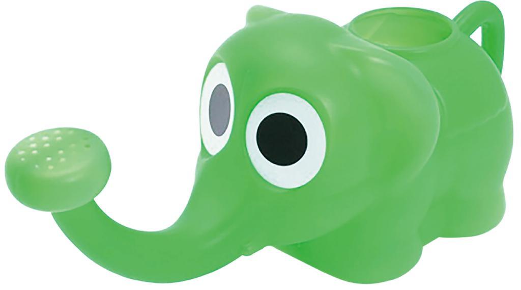 象さんジョーロ グリーン 000009680 〔まとめ買い10個セット〕【代引不可】