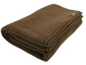 速暖 エバーウォーム 毛布 シングル(約140×200cm)ブラウン【代引不可】