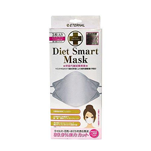 【メール便発送】ダイエットスマートマスク 3P 箱入【代引不可】
