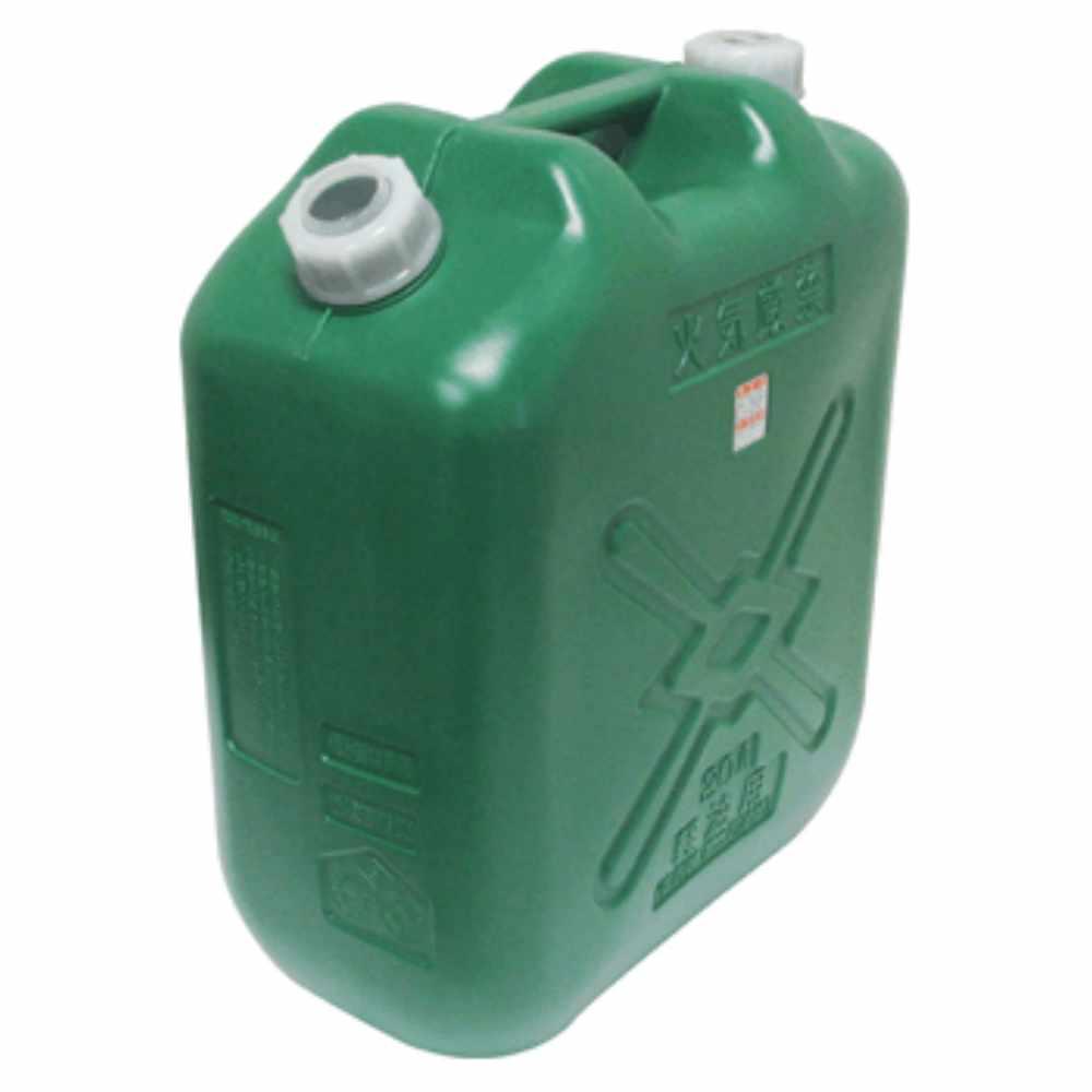【送料無料】北陸土井工業 日本製 Japan 軽油缶20L スリム (消防法適合品) 〔まとめ買い8缶セット〕【代引不可】