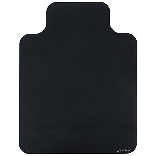 Bauhutte (バウヒュッテ) 純正チェアマット BCM-120BK ブラック 120×90cm 1.5mm厚【代引不可】