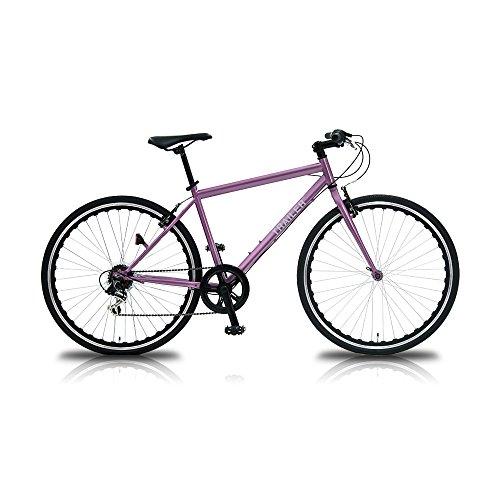 【送料無料】TRAILER(トレイラー) 700Cクロスバイク6段変速ピンク TR-C7003-PK ピンク【代引不可】