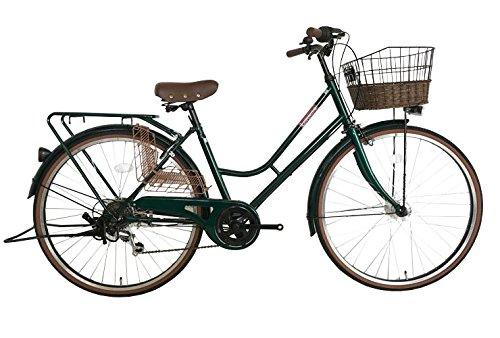 【送料無料】Lupinus 26インチHフレーム自転車 グリーン LP-266HA-ALL【代引不可】