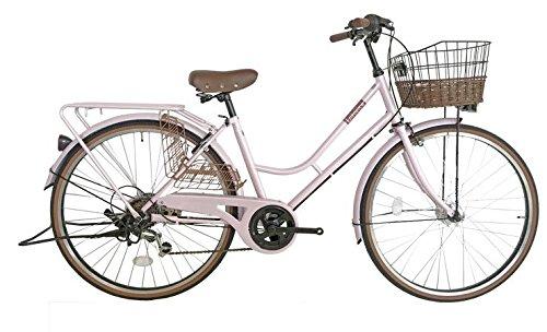 【送料無料】Lupinus 26インチHフレーム自転車 シャンパンピンク LP-266HA-ALL【代引不可】