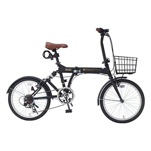 【送料無料】My Pallas(マイパラス) 折畳自転車 20インチ 6段ギア オールインワン カラー/マットブラック SC-07PLUS SC-07PLUS マットブラック 20インチ【代引不可】