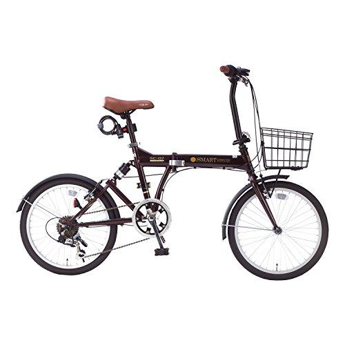 【送料無料】My Pallas(マイパラス) 折畳自転車 20インチ 6段ギア オールインワン カラー/エボニーブラウン SC-07PLUS SC-07PLUS エボニーブラウン 20インチ【代引不可】