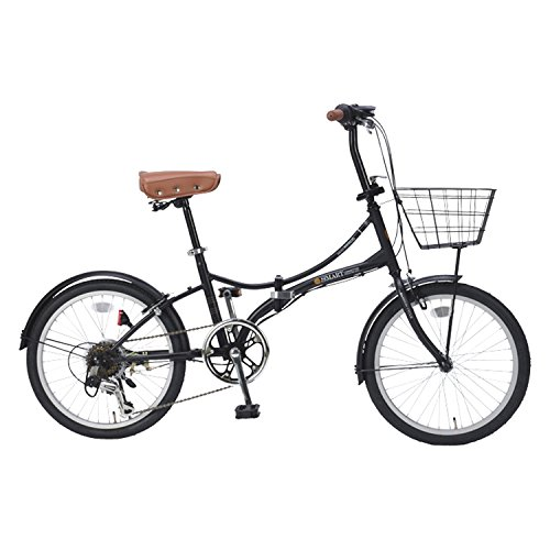 【送料無料】My Pallas(マイパラス) 折りたたみ自転車 20インチ 6段変速 オールインワン カラー/マットブラック SC-08PLUS SC-08PLUS マットブラック 20インチ【代引不可】
