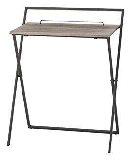 AZUMAYA folding desk black PT-780BK