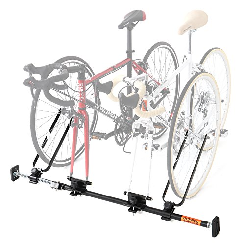【送料無料】DOPPELGANGER(ドッペルギャンガー) 1~2台用 自転車 車載 キャリア 固定 ホイールスタンド 付属 インカーサイクルペアキャリア DDS376-BK【代引不可】