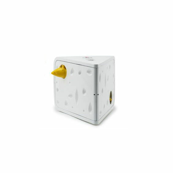 PetSafe Japan ペットセーフ 愛猫用電動おもちゃ フローリーキャットチーズ PTY18-15050【代引不可】