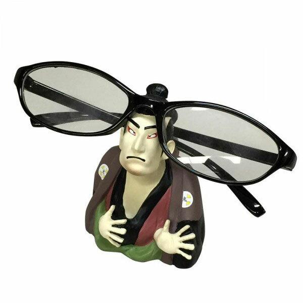 セトクラフト SR-2511-120 浮世絵風メガネスタンド(奴江戸兵衛)【代引不可】