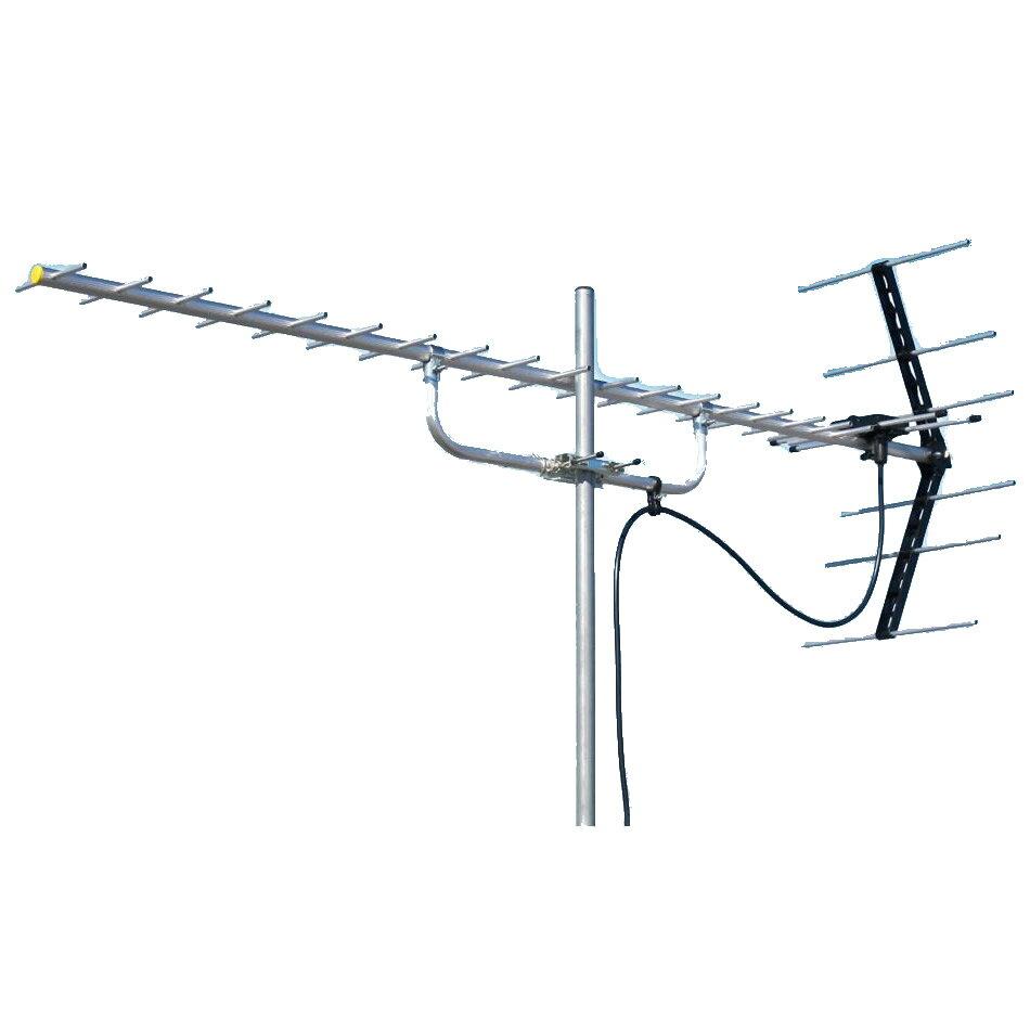 マスプロ電工 地上デジタル放送受信用 家庭用 UHFアンテナ 20素子 U206【代引不可】