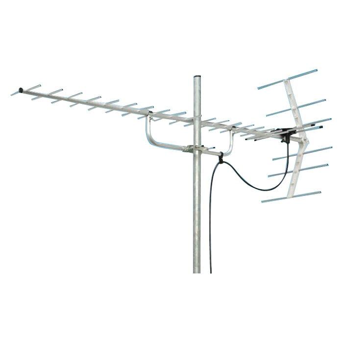 【送料無料】マスプロ電工 地上デジタル放送受信用 家庭用 UHFアンテナ 20素子 U206TMH【代引不可】