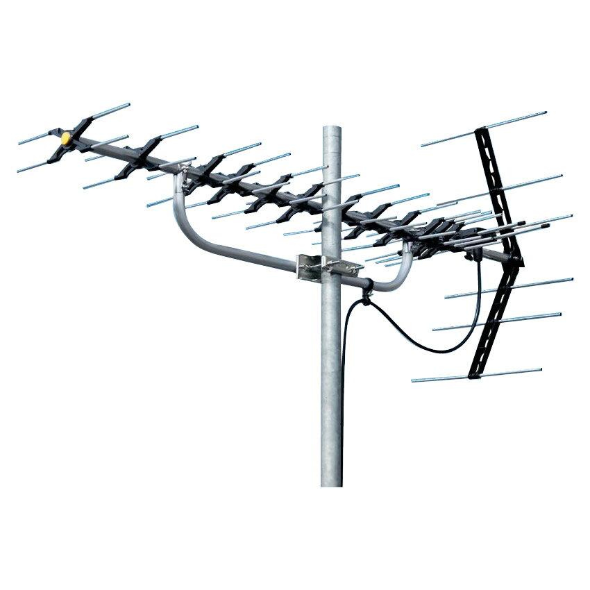 【送料無料】マスプロ電工 地上デジタル放送受信用 家庭用 高性能UHFアンテナ 14素子 LS146【代引不可】