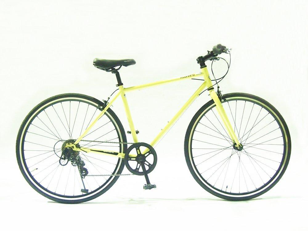【送料無料】ASUNAROアスナロ 自転車 AN-707CN Clove(クローヴ) 700×28cクロスバイク 100%完成車 (アイボリー)【代引不可】