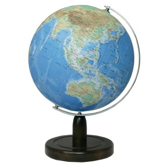 SHOWAGLOBES地球儀地勢圖型26cm 26-TAX