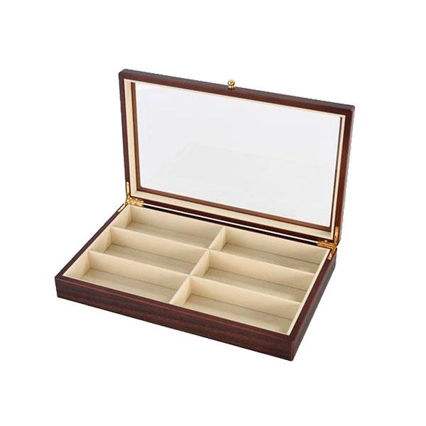 【送料無料】茶谷産業 Wooden Case 木製メガネケース(6本用) 856-133【代引不可】