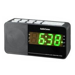 歐姆電機OHM AudioComm AM/FM時鐘收音機RAD-T210N