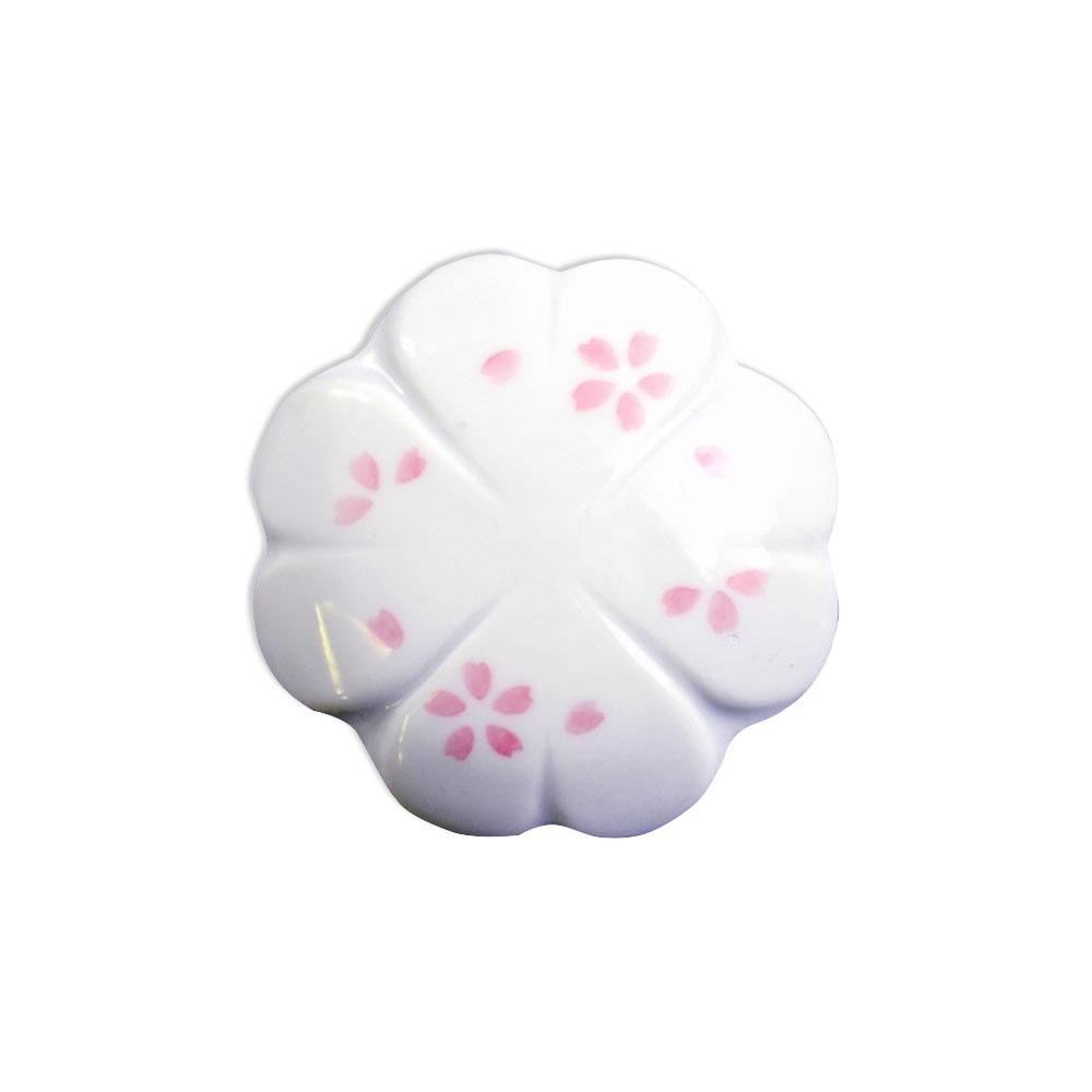 有田焼 排水口カバー 桜 ID-52-3【代引不可】
