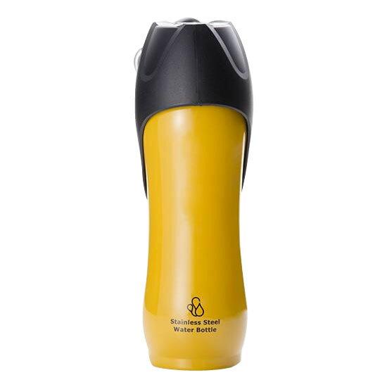 ROOP ペット用水筒 ステンレスボトル Lサイズ 750ml パープル【代引不可】