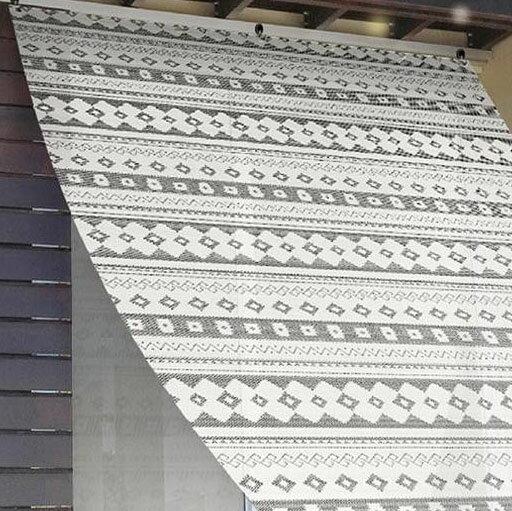 日除け名人 オーニングタイプ 90×180cm BK(ブラック) OSK-9018【代引不可】