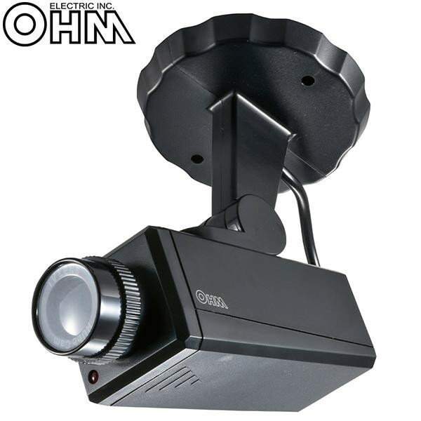 オーム電機 OHM ダミーカメラ 防犯ステッカー付き OSE-P-CD1【代引不可】