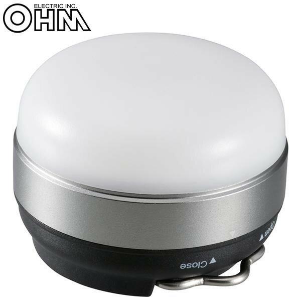 オーム電機 OHM LEDマルチランタン グレー LN-MS13A7-H【代引不可】