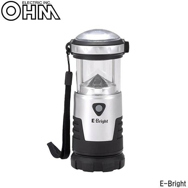 オーム電機 OHM E-Bright 2WAY LEDランタン NK-902【代引不可】