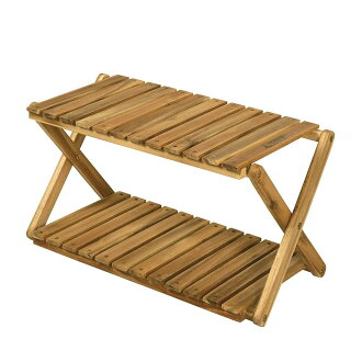 Two steps of CAPTAIN STAG captain stag CS classical music wooden rack (600) UP-2542