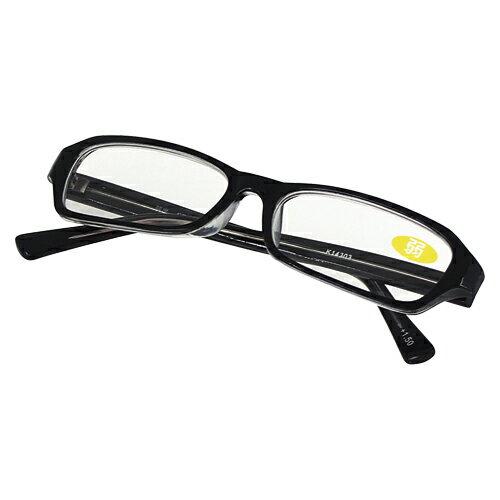 (まとめ買い)カール事務器 老眼鏡 弱 1.5度 FR-08-15 〔3本セット〕