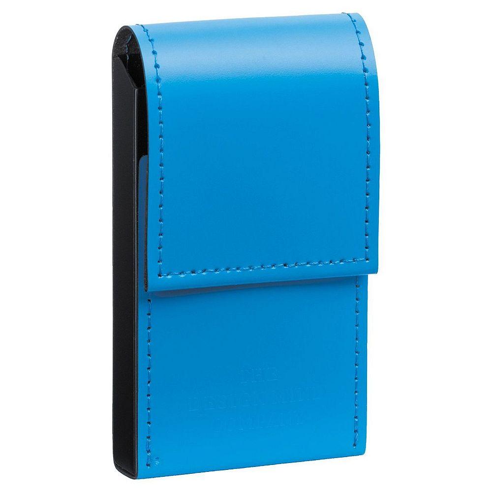 【メール便発送】リヒトラブ カードケース レザーイメージ 青 D1080-8【代引不可】