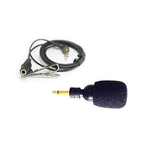 キングジム.「ハッキリ聴こえる音声ガイド」オプション・単一指向マイク& タイピンクリップ付コード GA-500MIC